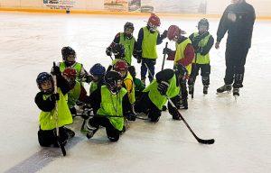 Eishockey Mannschaftssport Erfurt