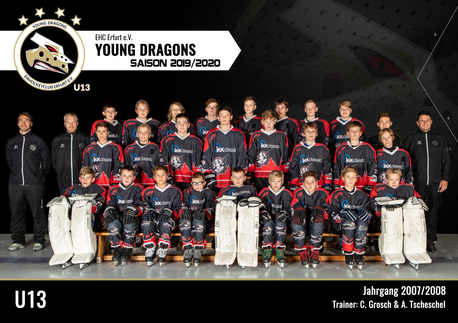 U13 Team 2019/20