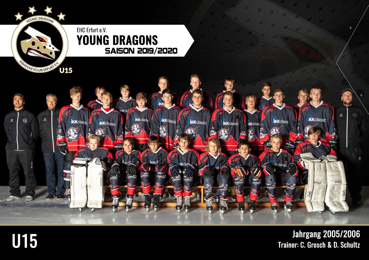 U15 Team 2019/20