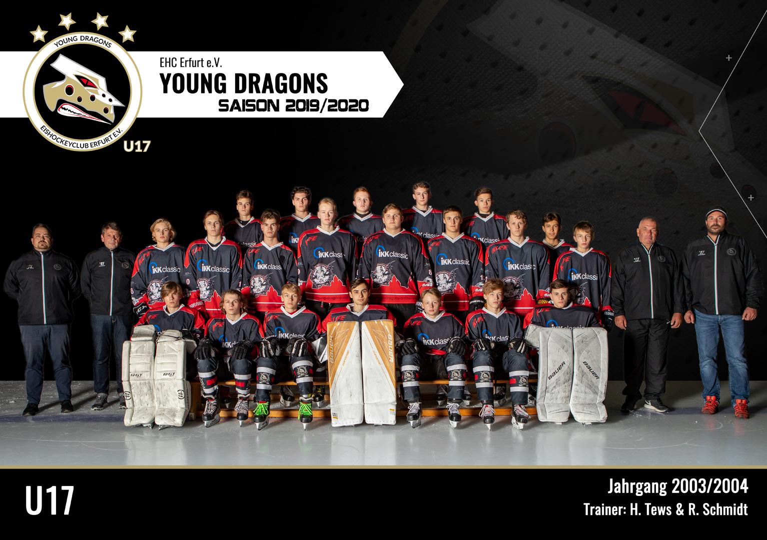 U17 Team 2019/20